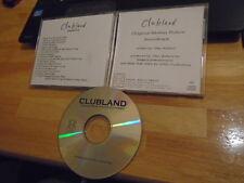 RARE PROMO Clubland CD soundtrack Zebrahead BI-SEXUAL CHICK Stayin Alive supple
