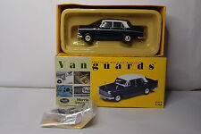 VANGUARDS MORRIS OXFORD VI  TRAFALGAR BLUE / SNOWBERRY WHITE 1:43