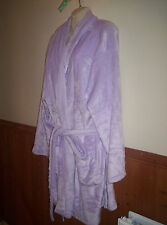 SALE BN NEW LOOK INSPIRE LILAC SOFT VELOUR ROBE SIZE 24/26 BUST IS 58""