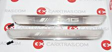 NEW OEM MERCEDES BENZ W205 X253 W213 ILLUMINATED DOOR SILL COVER RAIL KIT