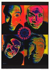 "MUSIC POSTER~Red Hot Chili Peppers Psychedelic 4 Corners NOS Import 24x34"" Orig~"