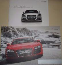 Le Mans - Audi Sport R8 V10 Plus Coupe & Spyder Quality Thick Catlogue & Booklet