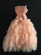 Bratz Doll Clothes Jade's Original Formal Funk Pink Frilly Netted Dress