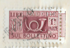 1966 Italy stamp - 300 Lire - Parcel Post-Sul Bollettino