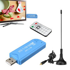 USB 2.0 Digital DVB-T SDR+DAB+FM HDTV TV Tuner Receiver Stick for Windows 7/8 PC