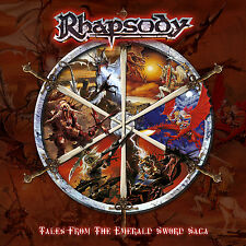 RHAPSODY - Tales From The Emerald Sword Saga Ltd Digipak CD 2004 + Free Sticker