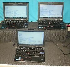 Lot of 3 IBM Lenovo ThinkPad X201 Laptop Intel Core i5 M-520 2.4Ghz 4GB