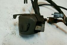 90 Honda CBR1000F CBR1000 hurricane Left Bar Hand Control Horn turn choke cable!