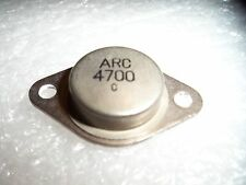 NOS-ARC 4700C NPN TO-3 TRANSISTOR-SUMO 9+ , ANDROMEDA and others! HARD TO FIND!