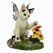 Darby Fairy Cat Figurine Faerie Glen Collection - Munro Gifts