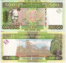 GUINEA 500 FRANCS 2012 P 39 UNC