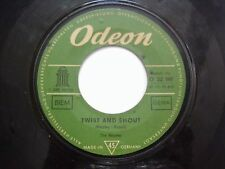 "THE BEATLES boys/twist & shout RARE SINGLE 7"" 45 GERMANY VG-"