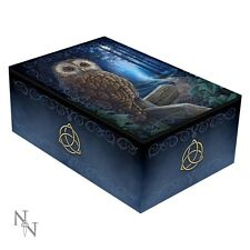 TAROT TARROT TAROTT BOX EMPTY WAY OF THE WITCH OWL LISA PARKER BLUE BRAND NEW