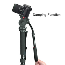 Professional Heavy Duty Monopiede Fotocamera Foto Video Stand Kit, Pan & Tilt Head
