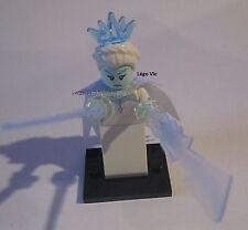Légo 71013 Minifig Figurine Série 16 Ice Queen Reine des Glaces + socle + fiche