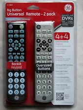 New GE 10849 Big Button Universal Remote Control - Pack of 2