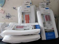 LOT OF GARMENT BAGS 4 DRESSES 3 SUITS All Sealed in pkg MINT Please view photos
