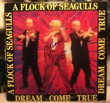 Flock Of Seagulls/Dream Come True-album signed by Mike Score (lead singer!)