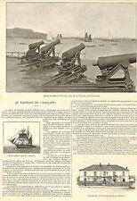 """SAINT-PIERRE & MIQUELON NAUFRAGE DU NAVIRE """" VAILLANT """" ARTICLE PRESSE 1897"""