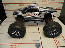 Custom Traxxas T-MAXX Electric Conversion Extend Chassis Upgraded E-MAXX Roller