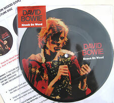 "DAVID BOWIE 7"" Knock On Wood PICTURE DISC 40th Anniv. + PROMO Info SHEET SEALED"