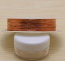 15M(1ROLL) 0.4mm Special Copper Wire Craft Wire Bead Wrap Jewelry