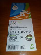 Ticket 20.8.2016 Olympic río Finals atletismo Athletics o15