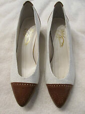 Vintage Beautiful Wing-Tips Shoes Size 7B By RAFAEL BLANTINI