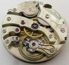Quality Agassiz Pocket Watch Movement for parts .. HC 43.1 mm Ryland & Rankin VA