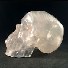 AWESOME   AAA QUALITY CARVING GIRASOL (Moon Quartz) CRYSTAL SKULL  -  ESku008