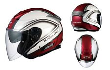 NEW OGK KABUTO ASAGI CLEGANT Pearl WHITE L Large  Helmet Japanese Model