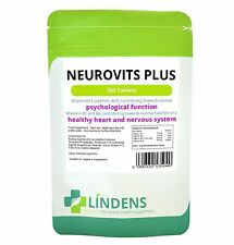 Lindens neurovits Plus, Vitamina B-12 500mcg Vitamina B-6 & ACIDO FOLICO 360 Pack