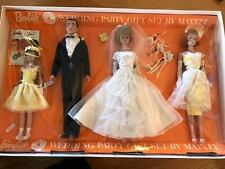 Barbie, Ken, Midge, and Skipper Wedding Party, made in Japan -  1963 RARE NRFB
