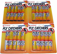 40 x clair papier collant pendaison fly trap tueur insecte catcher Bande Ruban