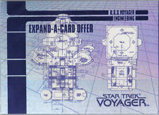 STAR TREK VOYAGER SEASON 1 EXPAND-A-CARD X-3