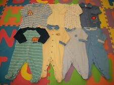 Lot 8 Baby Boy Footed Sleeper PJs Sleepwear Cloth Outfit 3-6 m month Carter's +