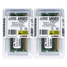 Atech 16GB Kit Lot 2x 8GB SODIMM DDR3 DDR-3 Laptop 12800 1600MHz 1600 Ram Memory