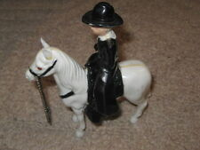 Ideal Hoppy & Topper plastic figures Horse and Rider