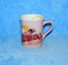 JASMINE PRINCESS 2003 8 OZ LEGO BELLEVILLE SQUARE PINK COFFEE MUG
