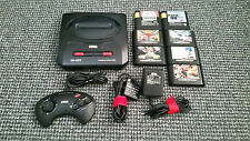 Sega Megadrive II Console Tested Working With 7 Games