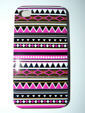 Coque Iphone 4 et 4S rigide NEUVE MODE TRIBAL AZTEQUE ART DECO