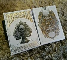Bicycle Steampunk Bandits White playing cards deck