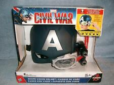 Scope Vision Helmet Captain America Civil War Marvel Light Up Avengers 2015 New