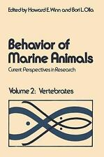 Behavior of Marine Animals: Current Perspectives in Reseach, Vol. 2: V-ExLibrary