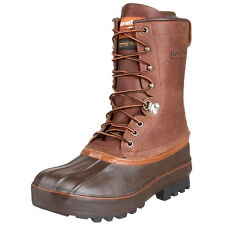 """13 M KENETREK GRIZZLY men's 10"""" 400 Gram Insulated Waterproof Pac Hunting Boots"""