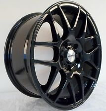 "18"" CALIBRE GLOSS BLACK ALLOY WHEELS 5X120 TO FIT BMW X3 X5 Z4 & SAAB 9-5"