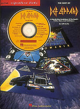 The Best of DEF LEPPARD Guitar Music Book CD TAB *NEW*