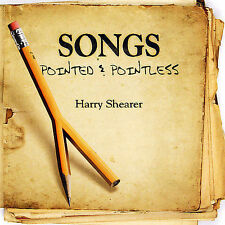 HARRY SHEARER - SONGS POINTED & POINTLESS - NEW RARE CD - SIMPSONS SPINAL TAP