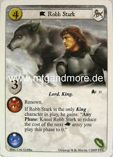 A Game of Thrones LCG - 1x Robb Stark  #033 - Kings of the Sea