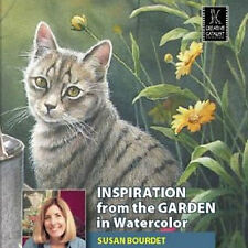 NEW DVD: INSPIRATION FROM THE GARDEN IN WATERCOLOR Photos Mask Wet-in-Wet Layer